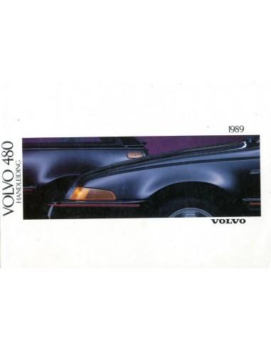 1989 VOLVO 480 INSTRUCTIEBOEKJE NEDERLANDS