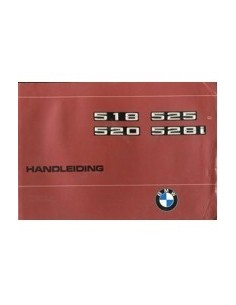 1977 BMW 5 SERIES OWNERS MANUAL HANDBOOK DUTCH