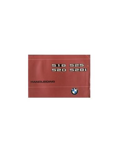 1977 BMW 5 SERIE INSTRUCTIEBOEKJE NEDERLANDS