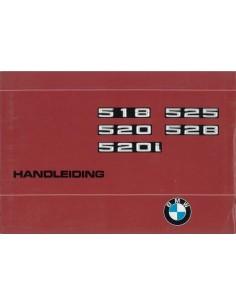 1976 BMW 5 SERIE INSTRUCTIEBOEKJE NEDERLANDS