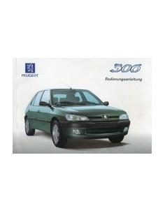 1997 PEUGEOT 306 INSTRUCTIEBOEKJE DUITS