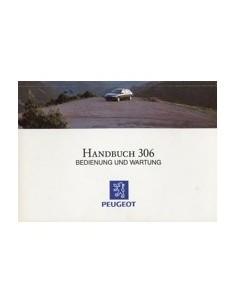 1993 PEUGEOT 306 INSTRUCTIEBOEKJE DUITS