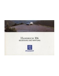 1993 PEUGEOT 306 OWNERS MANUAL GERMAN