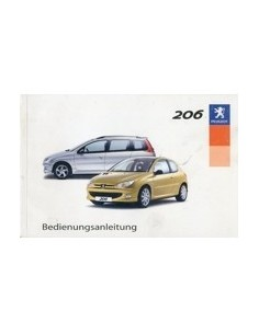 2003 PEUGEOT 206 OWNERS MANUAL GERMAN