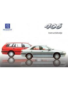 1997 PEUGEOT 406 INSTRUCTIEBOEKJE NEDERLANDS