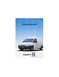 2000 PEUGEOT EXPERT INSTRUCTIEBOEKJE NEDERLANDS