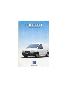 1999 PEUGEOT EXPERT INSTRUCTIEBOEKJE NEDERLANDS