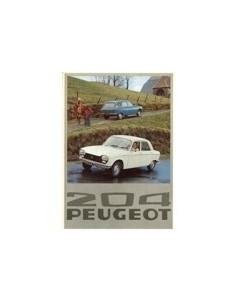 1976 PEUGEOT 204 BROCHURE NEDERLANDS
