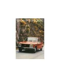 1977 PEUGEOT 304 SEDAN & BREAK BROCHURE DUTCH