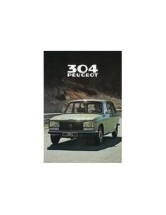 1979 PEUGEOT 304 BREAK BROCHURE NEDERLANDS