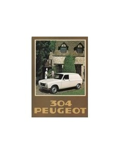 1978 PEUGEOT 304 BESTELWAGEN BROCHURE NEDERLANDS