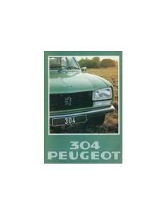 1978 PEUGEOT 304 SEDAN BREAK BROCHURE NEDERLANDS