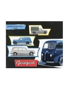 1958 PEUGEOT BEDRIJFSAUTO'S PROGRAMMA BROCHURE NEDERLANDS