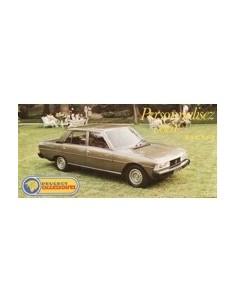 1980 PEUGEOT 604 ACCESSOIRES BROCHURE NEDERLANDS