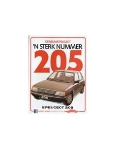 1984 PEUGEOT 205 BROCHURE NEDERLANDS