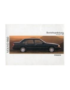 1991 VOLVO 960 OWNERS MANUAL HANDBOOK GERMAN