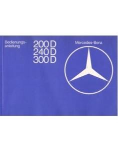1979 MERCEDES BENZ E CLASS DIESEL OWNERS MANUAL HANDBOOK GERMAN