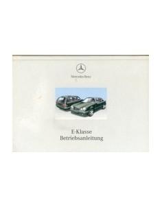 1999 MERCEDES BENZ E CLASS OWNERS MANUAL HANDBOOK GERMAN