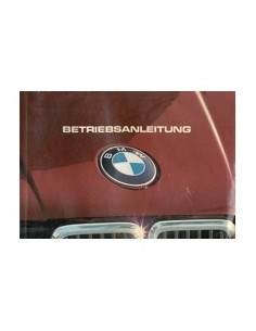 1983 BMW 3 SERIES OWNERS MANUAL HANDBOOK GERMAN