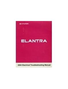 2004 HYUNDAI ELANTRA ELECTRISCH SCHEMA HANDBOEK ENGELS
