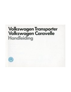 1989 VOLKSWAGEN CARAVELLE TRANSPORTER INSTRUCTIEBOEK NEDERLANDS