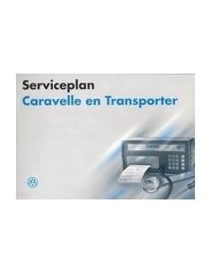 1995 VOLKSWAGEN CARAVELLE TRANSPOTER SERVICEPLAN NEDERLANDS