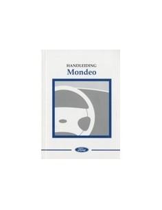 1998 FORD MONDEO INSTRUCTIEBOEKJE NEDERLANDS