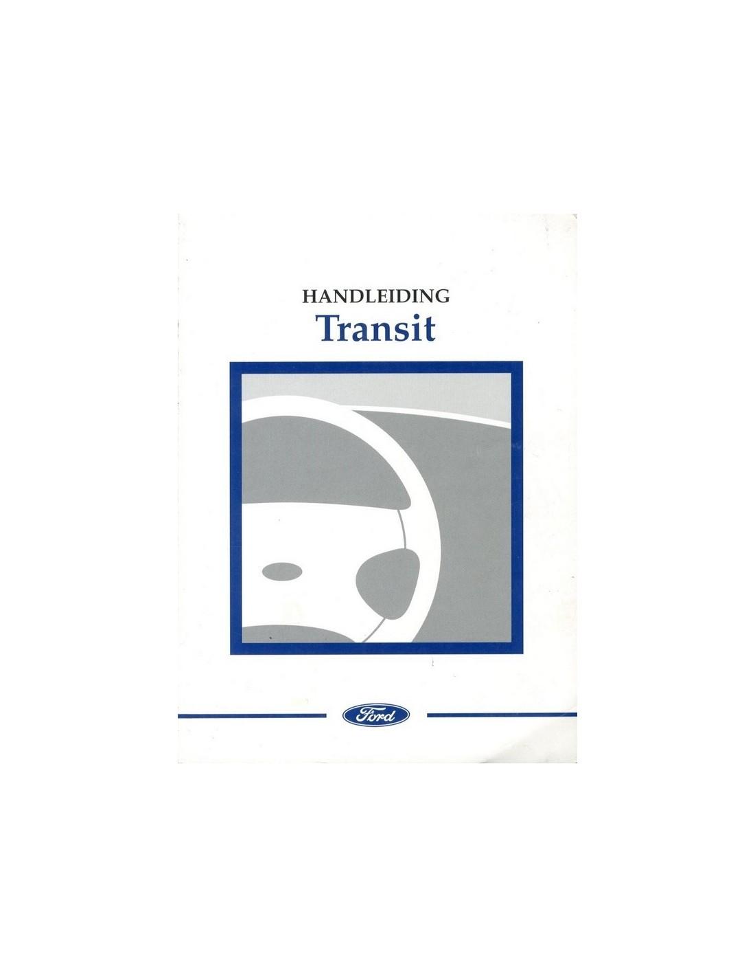 2002 ford transit owner s manual handbook dutch rh autolit eu