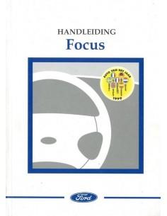 1999 FORD FOCUS INSTRUCTIEBOEKJE NEDERLANDS