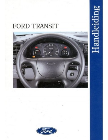 1996 ford transit owner s manual handbook dutch rh autolit eu 2017 Ford Transit Ford Transit Custom