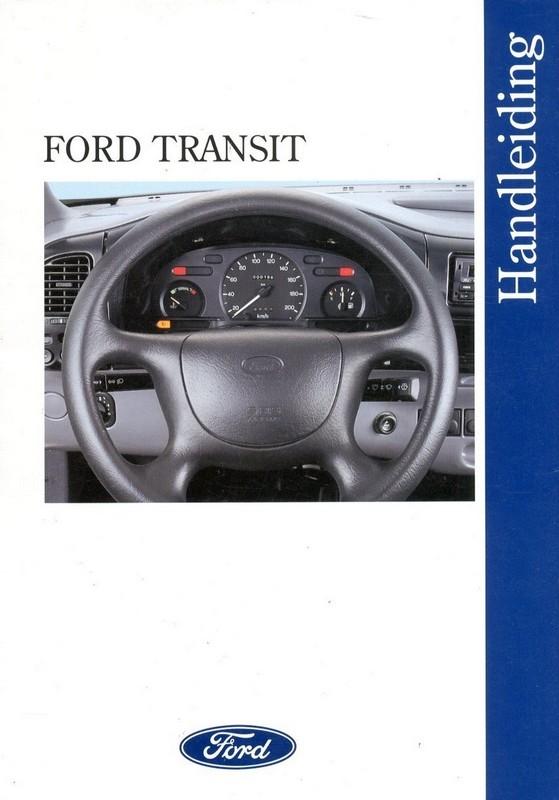 1996 ford transit owner s manual handbook dutch rh autolit eu 1998 Ford Transit 1971 Ford Transit