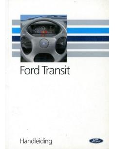 1992 FORD TRANSIT INSTRUCTIEBOEKJE NEDERLANDS