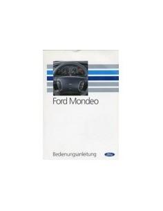 1992 FORD MONDEO INSTRUCTIEBOEKJE DUITS
