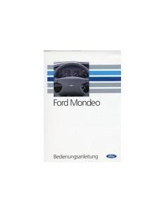 1993 FORD MONDEO INSTRUCTIEBOEKJE DUITS