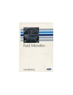 1992 FORD MONDEO INSTRUCTIEBOEKJE NEDERLANDS
