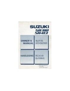 1988 SUZUKI SWIFT INSTRUCTIEBOEKJE NEDERLANDS ENGELS