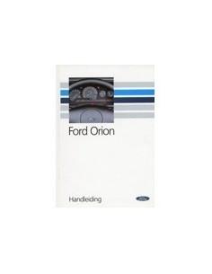 1990 FORD ORION INSTRUCTIEBOEKJE NEDERLANDS