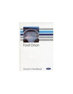 1992 FORD ORION INSTRUCTIEBOEKJE ENGELS