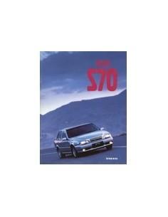 1998 VOLVO S70 BROCHURE NEDERLANDS