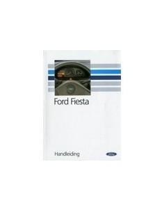 1992 FORD FIESTA INSTRUCTIEBOEKJE NEDERLANDS