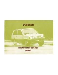 1980 FIAT PANDA INSTRUCTIEBOEKJE NEDERLANDS