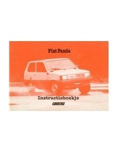 1983 FIAT PANDA INSTRUCTIEBOEKJE NEDERLANDS