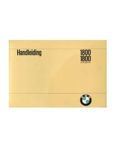 1969 BMW 1800 & AUTOMATIC INSTRUCTIEBOEKJE NEDERLANDS