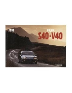 1998 volvo s40 v40 owners manual handbook englisch automotive rh autolit eu User Manual Car Owners Manual