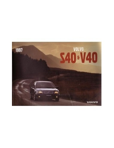 1997 volvo s40 v40 owners manual handbook englisch automotive rh autolit eu 2005 Volvo S40 2005 Volvo S40