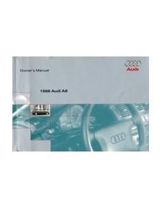 1997 AUDI A8 INSTRUCTIEBOEKJE ENGELS