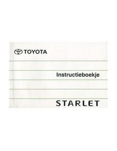 1995 TOYOTA STARLET INSTRUCTIEBOEKJE NEDERLANDS