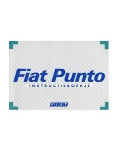 1996 FIAT PUNTO INSTRUCTIEBOEKJE NEDERLANDS