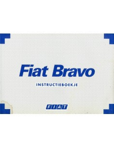 1997 FIAT BRAVO INSTRUCTIEBOEKJE NEDERLANDS
