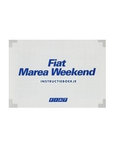 1996 FIAT MAREA WEEKEND INSTRUCTIEBOEKJE NEDERLANDS